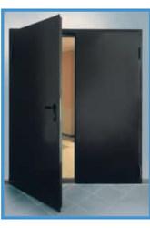 стальные двухстворчатые утепленные (базальт) двери
