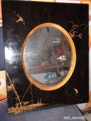 Китайское зеркало старинное