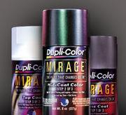 Американские аэрозольные автомобильные краски и покрытия Dupli-Color