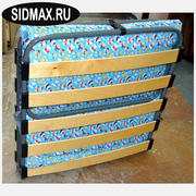 Раскладушки (раскладные кровати) с матрасами и на ламелях в СПб