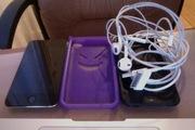 iPod touch 4 32gb черного цвета+наушники EarPods+2 чехла для плейера