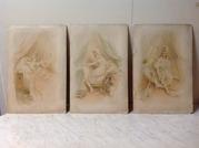 Три рисунка Росси