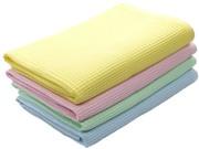 Полотенца вафельные и махровые
