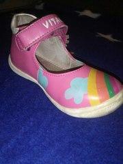 Детские туфли vitacci бу