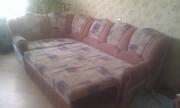 Продам угловой диван+кресло б/у СПб
