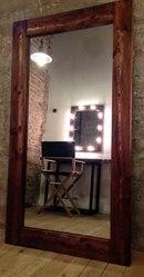 Продам напольное зеркало из массива сибирской лиственницы