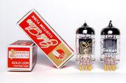 Радиолампа ECC83 Genalex Gold Lion