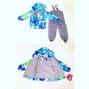 Непромокаемые демисезонные мембранные комплекты,  костюмы  для детей