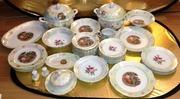 Керамика Антиквариат продам б/у сервиз обеденный Мадонна и Роза