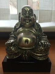 Статуэтка посеребренная Будды