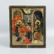 Икона Рождества Пресвятой Богородицы. Центральная Россия,  XVIII век.
