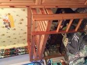 Кровать-чердак для ребёнка до 7 лет