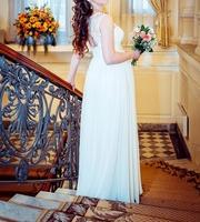 Шикарное свадебное платье,  подходит беременным