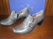Туфли лоферы серые Caprice