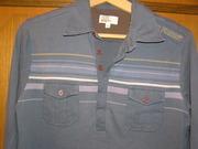 Рубашка поло с длинными рукавами