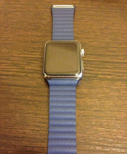 Apple Watch 42mm B Blu Lea Loop