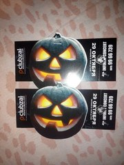 Билет Самый страшный halloween Хэллоуин