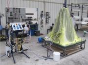 Оборудование для закрытой формовки стеклопластика