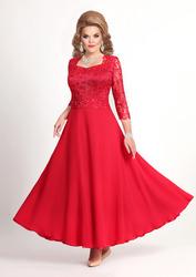 Нарядное платье красный цвет  56, 58, 60 размер