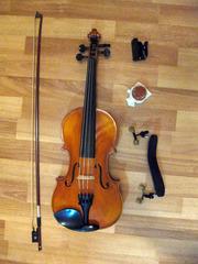Комплект с мастеровой скрипкой Goronok Нова 4/4 для начинающих музыкантов