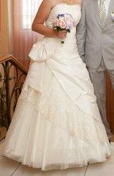 Свадебное платье Gabbiano+ перчатки, фата, подъюбник