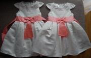 Продам нарядные платья Глория джинс на 5-6 лет (116 см)