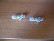 брелки-магниты с логотипом Google. 2шт.