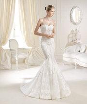 Свадебное платье испанского бренда