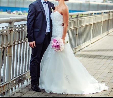 Свадебное платье б/у продажа