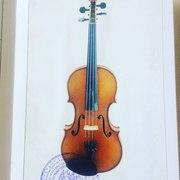 Скрипка 4/4 мастерская Ernst Heinrich Roth Германия 2012