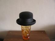 Шляпа с полями из черного фетра ingrid
