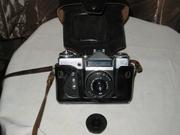 Фотоаппарат ZENIT E с объективом INDUSTAR - 50 -2 в кожаном футляре