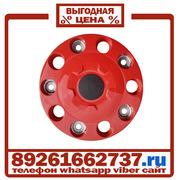 Колпаки колёсные 22 5 ступичные пластик красные в Москве