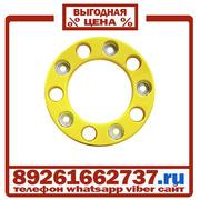 Колпаки колёсные 22 5 ступичные пластик желтые в Москве