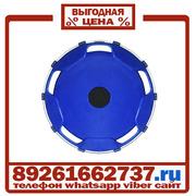 Колпаки колёсные 22.5 передние пластик синие в Москве