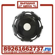 Колпаки колёсные 19.5 передние пластик черные в Москве