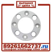Колпаки колёсные 17.5 19.5 ободок на 8 шпилек пластик Серые в Москве