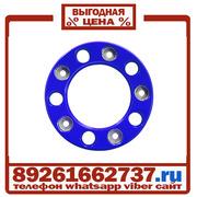 Колпаки колёсные 22 5 ступичные пластик синие в Москве