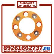 Колпаки колёсные 17.5 19.5 ободок на 8 шпилек пластик Оранж в Москве