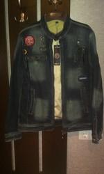Джинсовая куртка F-Skies Jeans(новая)