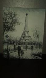 Картина Париж(Эйфелева башня) из ИКЕА