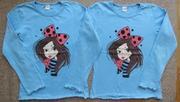 Продам футболки с длинным рукавом. Р. 128 (7-8 лет)