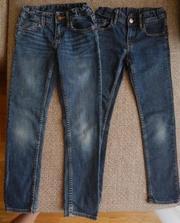 Продам джинсы H&M. Р. 128 (7-8 лет). Регулируемая резинка на талии