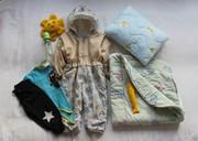 Комплект в коляску для новорожденных