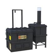 Инсинератор для обезвреживания твердых отходов