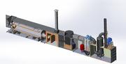 Инсинератор для обезвреживания жидких отходов