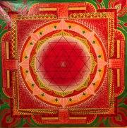 картина Шри Янтра