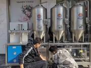 Передвижное оборудование для продажи пива