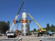 200Т ЦКТ Танк брожения для пивзавода Резервуар для брожения и дображив
