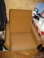 Крепкие кресла бу советские 2 шт
